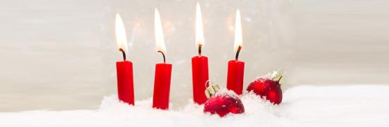 1-2-3-4 Kerzen zum Advent